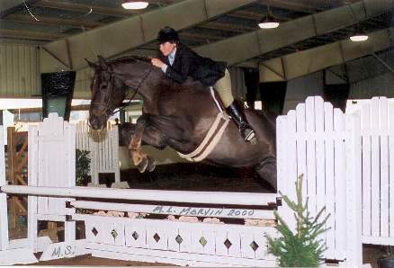 Jean Claude - with Taryn - Windsor Farm